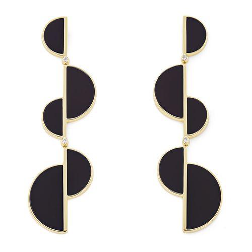 par-de-brincos-de-ouro-amarelo-18k-com-quartzo-negro-e-diamantes-colecao-roberto-burle-marx-B2QB209661