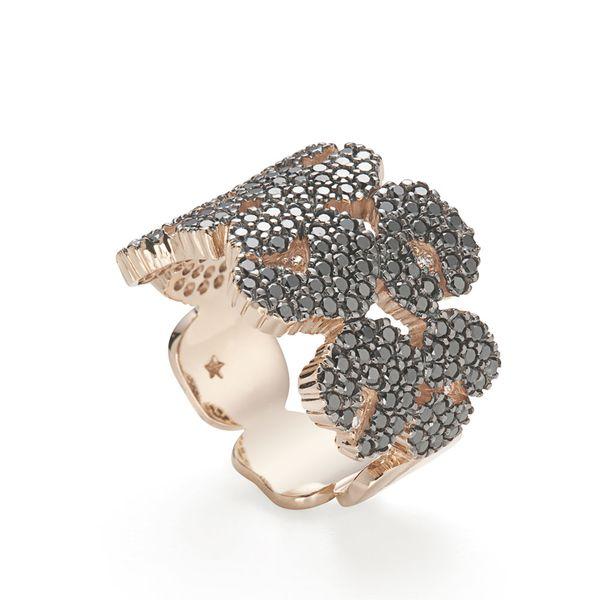 Anel-de-ouro-rose-18K-com-diamantes-negros-e-brancos---Colecao-Ancient-America-A0B196769