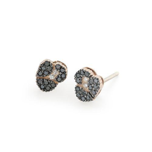 Par-de-brincos-de-ouro-rose-18K-com-diamantes-negros-e-brancos---Colecao-Ancient-America-B0B196768