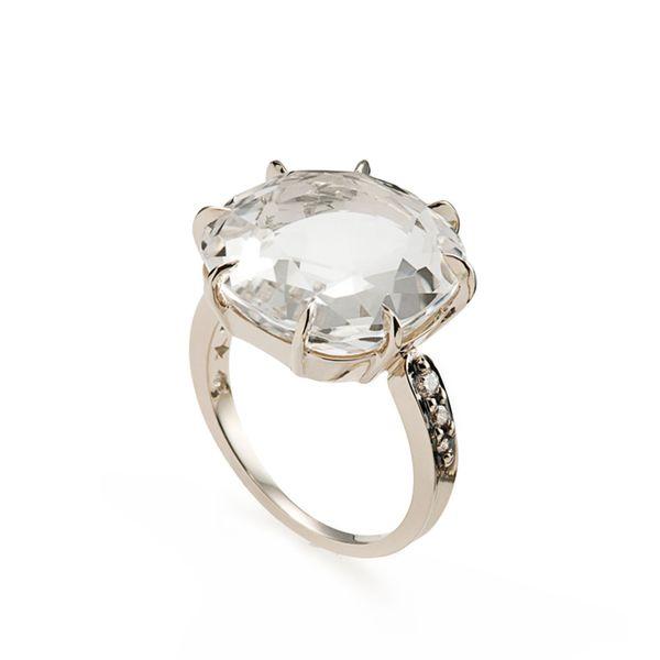 Anel-de-Ouro-Nobre-18K-com-cristal-de-rocha-e-diamantes-cognac---Colecao-Moonlight---A1CR188339