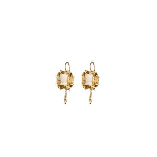 Par-de-brincos-de-ouro-amarelo-18K-com-citrino-e-diamantes-cognac---Colecao-Moonlight---B2CT188341
