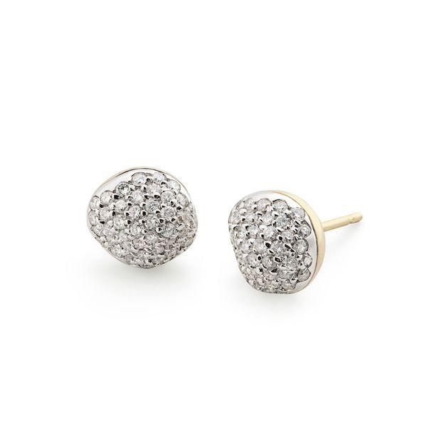 Par-de-brincos-de-ouro-amarelo-e-ouro-branco-18K-com-diamantes---Colecao-Pedras-Roladas---B2B155757