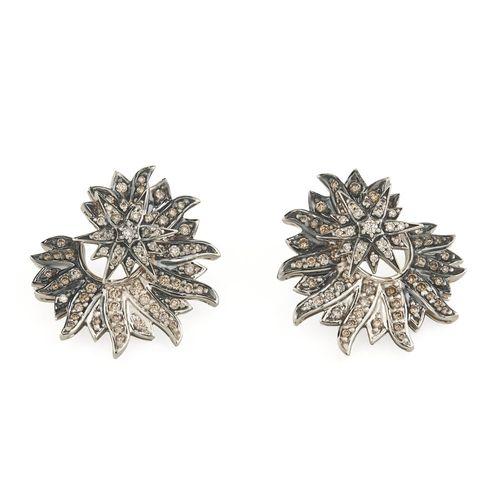 Par-de-brincos-de-Ouro-Nobre-18K-com-diamantes-cognac---B1B204254