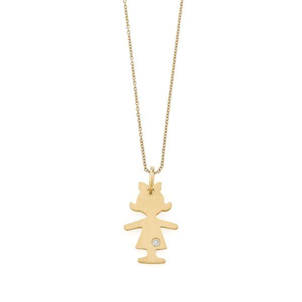 Pingente-de-ouro-amarelo-18K-com-diamante---Colecao-Menino-e-Menina---BE2O100341
