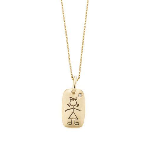 Pingente-de-ouro-amarelo-18K-com-diamante---Colecao-Menino-e-Menina---BE2B523010
