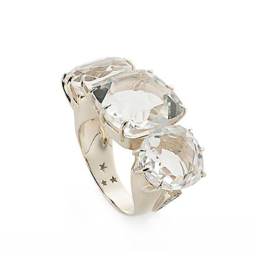 Anel-de-Ouro-Nobre-18K-com-cristais-de-rocha-e-diamantes-cognac---Colecao-Moonlight---A1Q168409