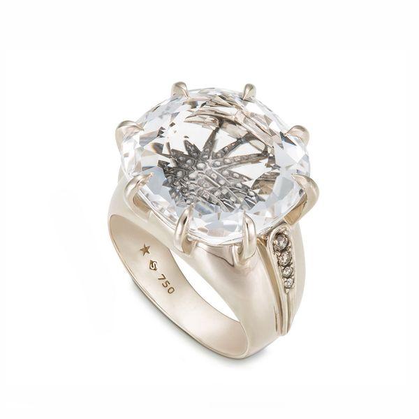 Anel-de-Ouro-Nobre-18K-com-cristal-de-rocha-e-diamantes-cognac---Colecao-Moonlight---A1Q192189