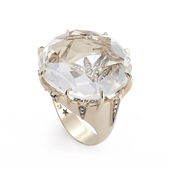 Anel-de-Ouro-Nobre-18K-com-cristais-de-rocha-e-diamantes-cognac---Colecao-Moonlight---A1Q191095