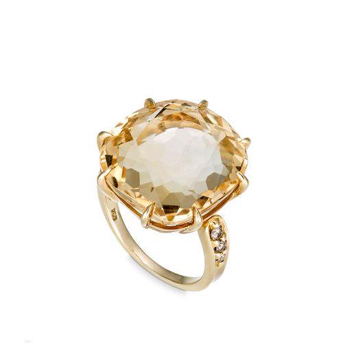 Anel-de-ouro-amarelo-18K-com-citrino-e-diamantes-cognac---Colecao-Moonlight---A2CT188339