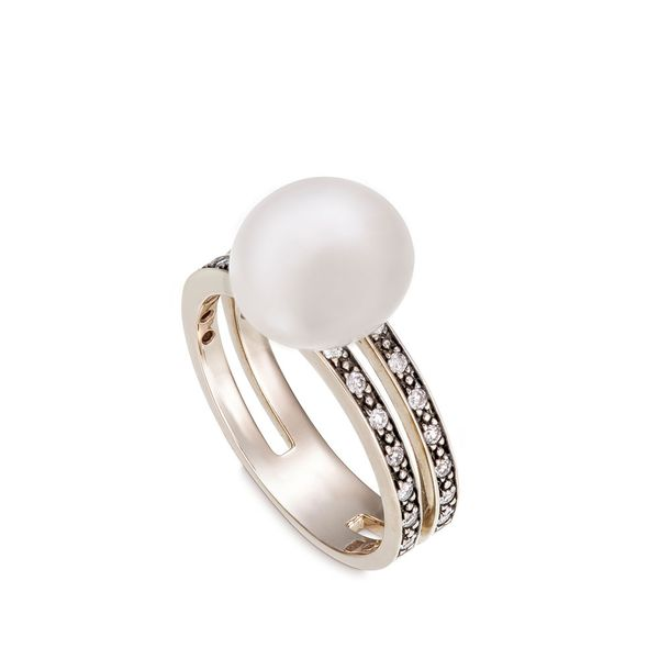 Anel-de-Ouro-Nobre-18K-com-diamantes-cognac-e-perola---Colecao-Perolas---A1P195561