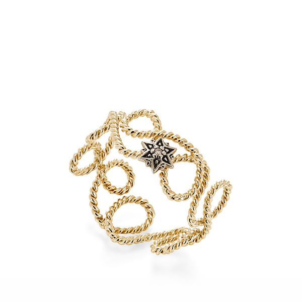 Anel-de-ouro-amarelo-e-Ouro-Nobre-18K-com-diamante-cognac---MyCollection---A2B203593