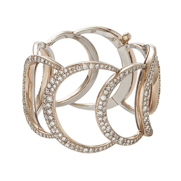 Pulseira-de-ouro-rose-18K-com-diamantes-cognac---Colecao-Iris---P0B198085