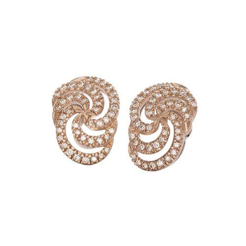 Par-de-brincos-de-ouro-rose-e-Ouro-Nobre-18K-com-diamantes-cognac---Colecao-Iris---B0B198374