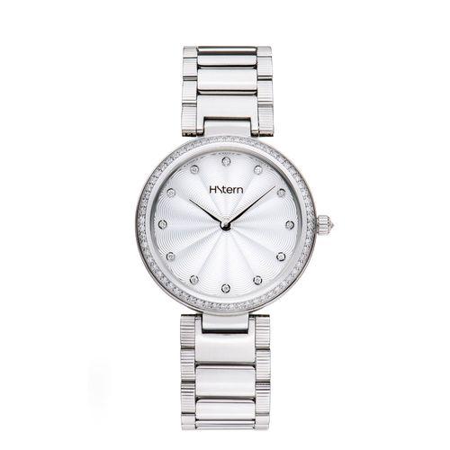 Relogio-feminino-Plisse-com-acabamento-guilloche-floral-e-aro-de-diamantes---RS9AC209459
