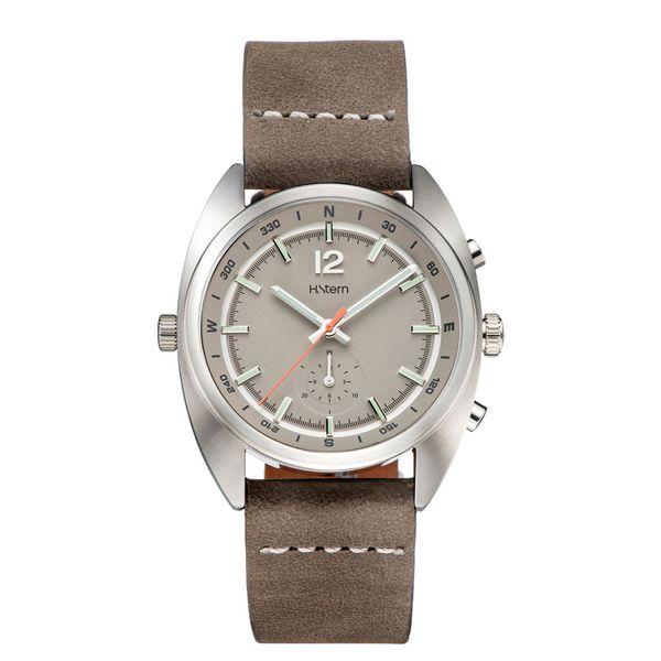 Cronografo-Compass-com-mostrador-bege-e-pulseira-de-couro-caqui---RH9CI202249