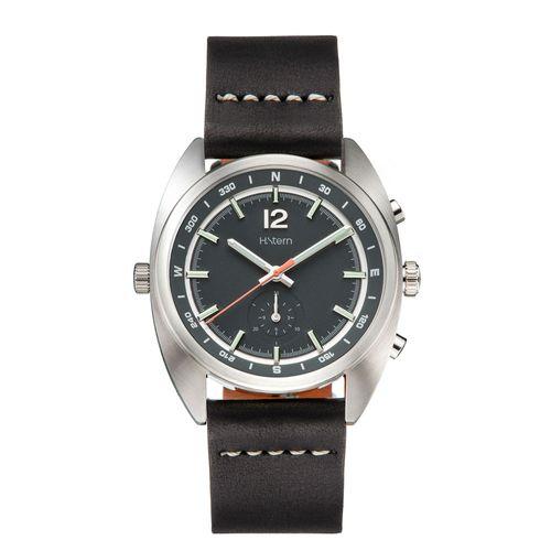 Cronografo-Compass-com-mostrador-verde-e-pulseira-de-couro-preta---RH9CI202250
