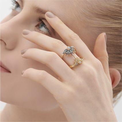 Anel-de-ouro-amarelo-e-Ouro-Nobre-18K-com-diamantes-cognac---LookBook