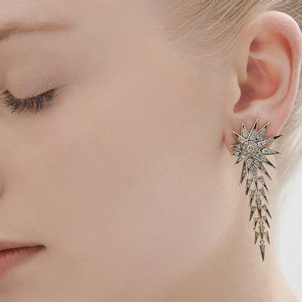 Par-de-brincos-de-Ouro-Nobre-18K-com-diamantes-cognac---Colecao-Genesis-H.Stern---LookBook
