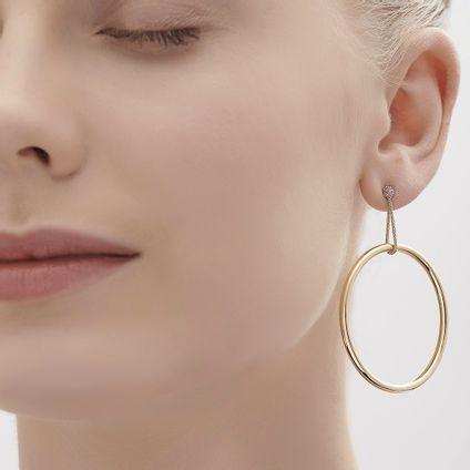 Par-de-brincos-de-ouro-amarelo-e-ouro-nobre-18K-com-diamantes---Colecao-Galilei---LookBook