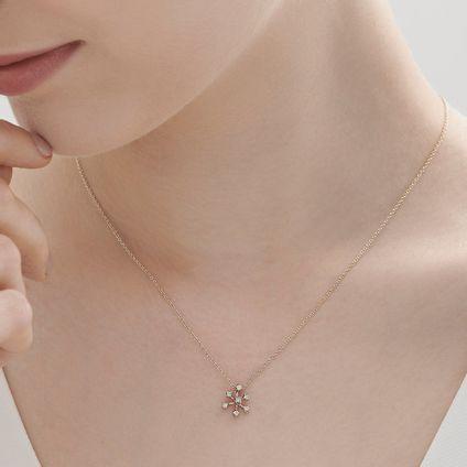 Colar-de-Ouro-Nobre-18K-com-diamantes-cognac---Colecao-Snow-Flake---LookBook