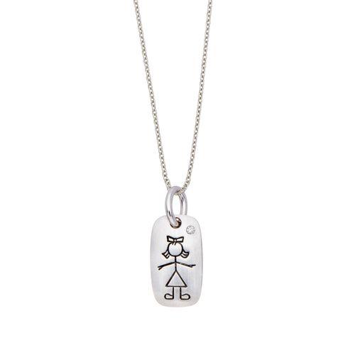 Pingente-de-ouro-branco-18K-com-diamante---Colecao-Menino-e-Menina