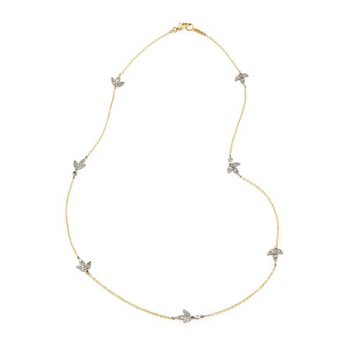 Colar-de-ouro-amarelo-e-ouro-branco-18K-com-diamantes---MyCollection---LookBo