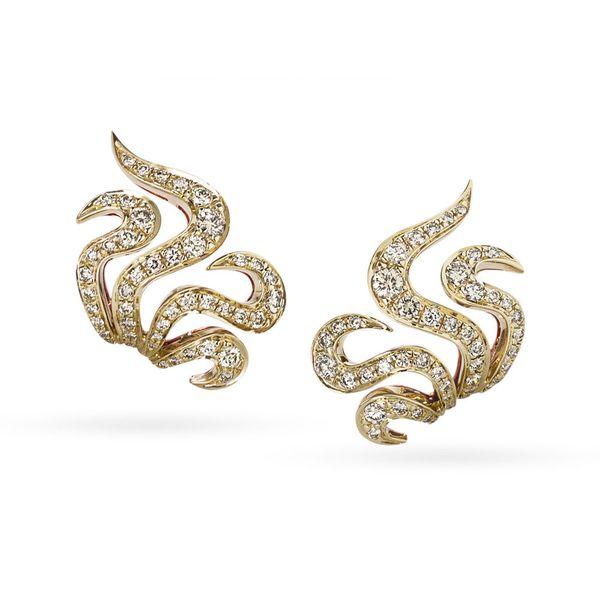 Par-de-brincos-de-ouro-amarelo-e-ouro-rose-18K-com-diamantes-cognac---Colecao-Iris---B2B197797